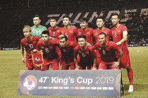 Đội tuyển Việt Nam đón tin vui sau King's Cup