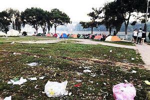 Ghi hình phạt nguội đến 7 triệu đồng hành vi xả rác ở Đà Lạt