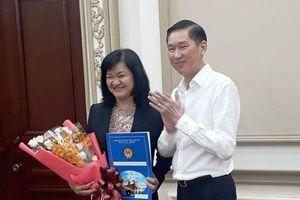 TPHCM có nữ lãnh đạo chủ chốt 43 tuổi