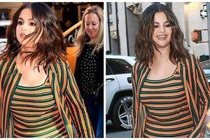 Selena Gomez lộ cằm xệ, bụng to bất thường nhưng nguyên nhân thật sự đằng sau khiến ai cũng đều phải lặng người
