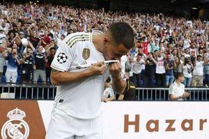 Video cận cảnh buổi ra mắt hoành tráng của Hazard tại Real Madrid