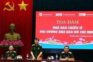 Tọa đàm về nhà báo chiến sỹ noi gương nhà báo Hồ Chí Minh