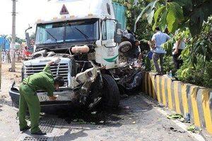 Tai nạn thảm khốc container đâm ô tô làm 5 người chết ở Tây Ninh: Khẩn trương xét nghiệm ma túy đối với tài xế
