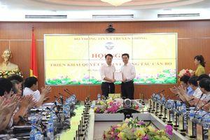 Ông Nguyễn Huy Dũng được bổ nhiệm chức Cục trưởng Cục An toàn thông tin