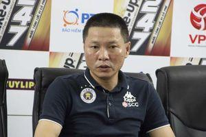 HLV Chu Đình Nghiêm giải thích việc không dùng Quang Hải trong trận gặp Sài Gòn FC