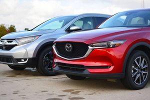 Mazda CX-5 giảm giá mạnh vẫn hụt hơi trước Honda CR-V