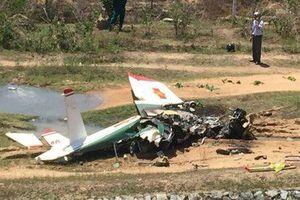 Danh tính hai phi công hy sinh trong vụ máy bay rơi ở Khánh Hòa