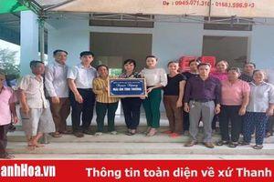 Hội LHPN huyện Quảng Xương: Khánh thành Nhà mái ấm tình thương cho hội viên nghèo