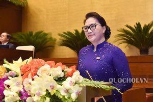 'Quốc hội ngày càng gắn bó mật thiết với nhân dân'
