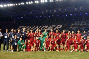 Bóng đá Việt Nam tăng 2 bậc, đứng đầu tại khu vực Đông Nam Á theo xếp hạng FIFA