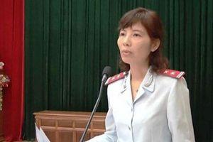 Trưởng đoàn thanh tra Bộ Xây dựng Nguyễn Thị Kim Anh bị bắt quả tang nhận hối lộ