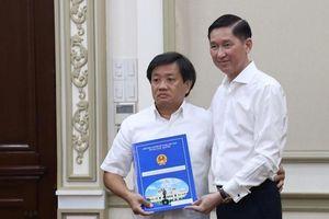 Ông Đoàn Ngọc Hải nộp đơn từ chức Phó TGĐ TCT xây dựng Sài Gòn rồi sau đó không đi làm