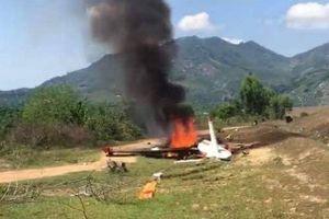 Rơi máy bay huấn luyện quân sự tại Khánh Hòa, hai phi công hy sinh