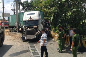 Tạm giữ tài xế container gây tai nạn làm 5 người chết ở Tây Ninh