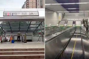 Choáng với ga tàu điện ngầm nằm sâu 95m dưới lòng đất