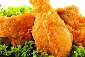 Cách làm gà rán KFC ngon giòn hấp dẫn đơn giản tại nhà