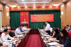 Đoàn kiểm tra của Bộ Chính trị làm việc với Hà Nội về công tác tổ chức cán bộ