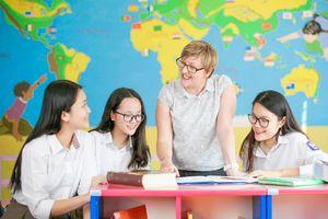 Lương giáo viên trường quốc tế cả trăm triệu đồng/tháng