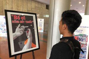 Trao giải cuộc thi sáng tác tranh về phòng, chống tác hại của thuốc lá