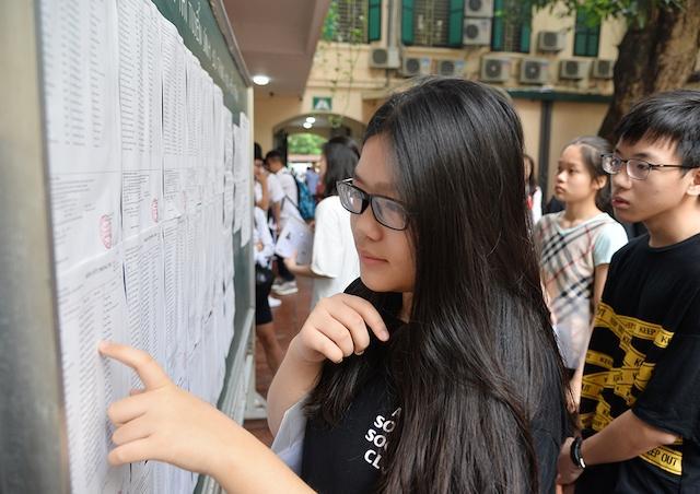 Hôm nay có điểm chuẩn lớp 10 tất cả các trường công lập Hà Nội