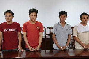 Bắt nhóm chuyên cắt trộm cáp viễn thông ở Huế