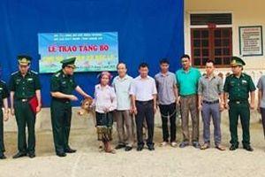 Hộ nghèo xã Bắc Lý biết ơn Bộ đội Biên phòng