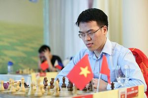 Giải vô địch cờ vua châu Á 2019: Kỳ thủ Lê Quang Liêm lần đầu lên ngôi