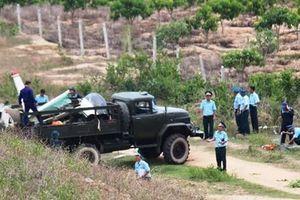 Đưa thi thể 2 phi công hy sinh trong vụ máy bay rơi ở Khánh Hòa về Bệnh viện Quân y 87