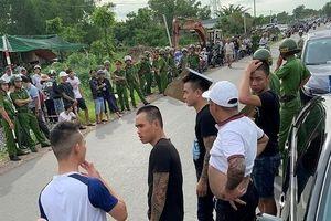 'Nhóm xăm trổ vây nhốt cảnh sát trong ô tô': Bắt Giang '36'