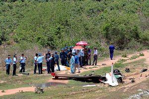 Vụ rơi máy bay ở Khánh Hòa: Đề xuất thăng quân hàm 2 phi công hy sinh