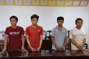 Từ Kon Tum đến Huế thuê nhà nghỉ để trộm cáp viễn thông