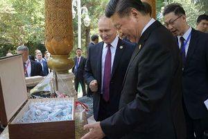 Tổng thống Nga Putin tặng quà sinh nhật độc đáo cho Chủ tịch Trung Quốc Tập Cận Bình