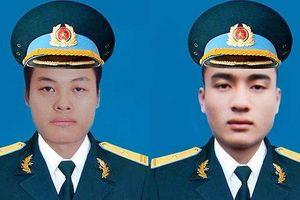 Ngày mai tổ chức tang lễ 2 phi công hy sinh do máy bay rơi ở Khánh Hòa