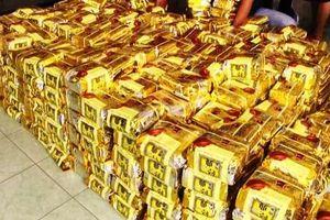 Bắt gần 5kg ma túy được vận chuyển từ Campuchia về TP HCM