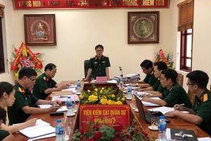 VKS Quân sự Trung ương kiểm tra công tác tại VKS Quân sự Quân khu 2