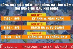Bán kết nhi đồng Hà Tĩnh: Kỳ Anh 3 - 4 Nghi Xuân