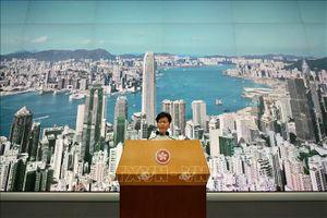 Trung Quốc ủng hộ quyết định của chính quyền Hong Kong đình chỉ dự luật dẫn độ