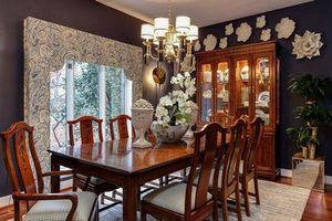 Những thiết kế phòng ăn dành riêng cho người yêu thích phong cách cổ điển