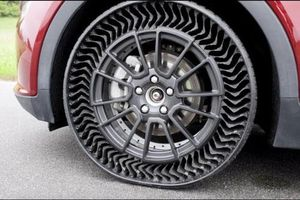 Tìm hiểu về lốp không hơi của Michelin