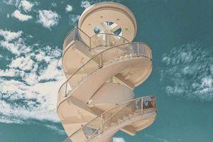 Nha Trang xuất hiện cầu thang xoắn trắng muốt, hứa hẹn trở thành 'bậc thang lên thiên đường sống ảo' của giới trẻ