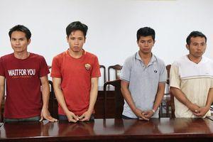Thừa Thiên Huế: Bắt nhóm nghi phạm gây ra hàng loạt vụ trộm cắp cáp viễn thông
