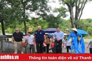 Đại sứ Đặc mệnh toàn quyền Liên bang Nga tại Việt Nam thăm Khu di tích quốc gia đặc biệt Lam Kinh