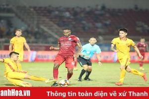 Giành 1 điểm trên sân Thống Nhất, Thanh Hóa kết thúc lượt đi V.League 2019 ở nửa trên bảng xếp hạng