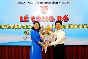 Nhân sự mới ở Đắk Nông, Nghệ An