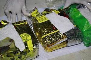 Bắt lô ma túy lớn trên đường từ Campuchia đưa về Sài Gòn