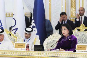 Phó Chủ tịch nước hội kiến với Tổng thống Tajikistan