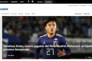 Tài năng của thần đồng bóng đá Nhật Bản vừa gia nhập Real Madrid