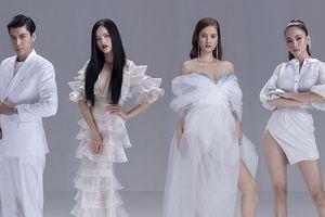 Mâu Thủy khoe vẻ đẹp cuốn hút bên dàn HLV 'Model Kid 2019'
