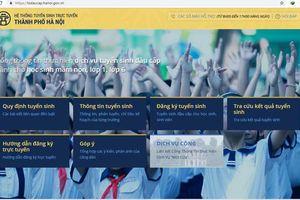 Hà Nội: Thử nghiệm đăng ký tuyển sinh trực tuyến vào các lớp đầu cấp