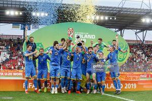 Thua ngược 1-3, U20 Hàn Quốc đau đớn nhìn Ukraine vô địch U20 W.C